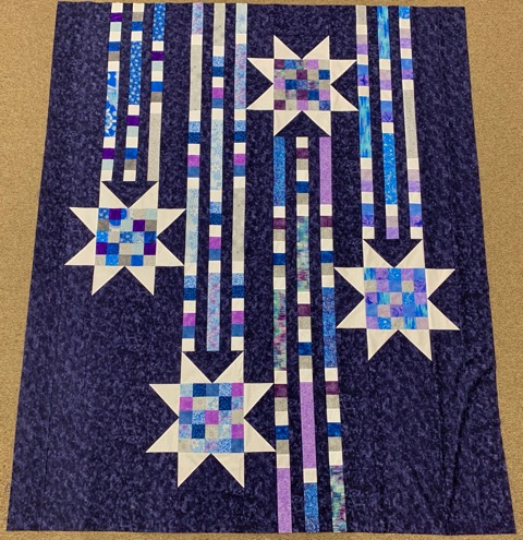 Showering Stars Quilt Bonnies Sewing Center